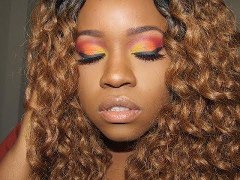 Sunset Makeup Tutorial