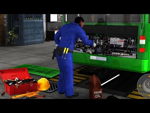 Real Bus Mechanic Simulator 3D Car Garage Workshop - Best Android Game Apps For Kids