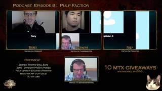 State of Exile Podcast Episode 8: Pulp Faction - Preshow with Pulp!