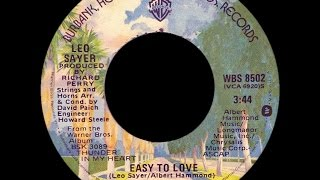 Watch Leo Sayer Easy To Love video