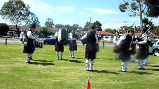 Perth Highland Pipe Band Medley