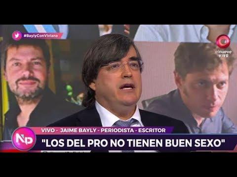 Jaime Bayly vinculó sexo con política argentina