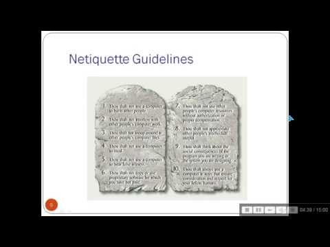 NETIQUETTES (IN HINDI)