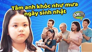 Gia đình là số 1 Phần 2 | Lam Chi đã làm gì khiến Tâm Anh khóc như mưa trong ngày sinh nhật?