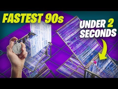 The NEW Fastest 90s on Controller... (Fortnite HandCam)