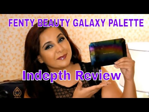 GALAXY COLLECTION II FENTY BEAUTY : DEMO + REVIEW
