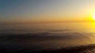 Чёрное море на границе с Абхазией . Рыбалка хамсы анчёуса в Адлере