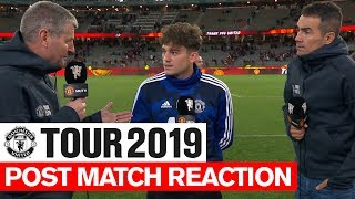 Manchester United | Tour 2019 | Post Match Reaction | James, Gomes & Solskjaer