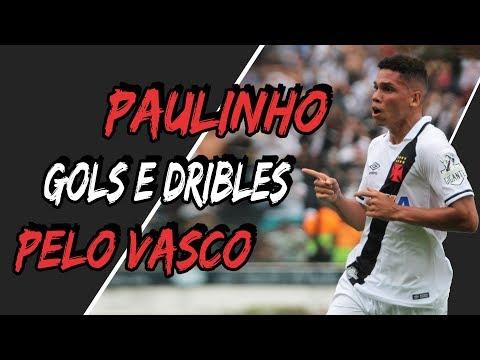 PAULINHO - GOLS E DRIBLES PELO VASCO