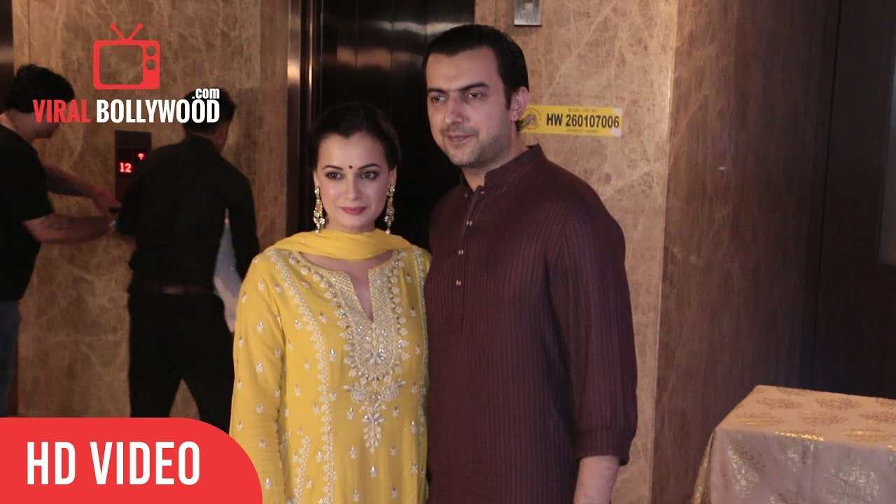 Dia mirza husband photo
