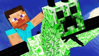 Minecraft but all M๐bs are Dragons