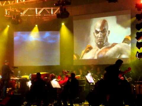 Video Games Live 2010 - God of War feat. Gerard Marino (Rio de Janeiro, 10/10/2010)