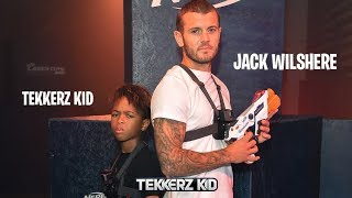 Tekkerz Kid vs Jack WILSHERE!! NERF LASER OPS BATTLE