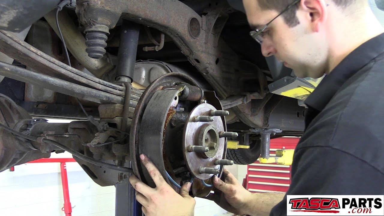 Do It Yourself - Install OEM Rear Drum Brakes 2008 Chevy ...