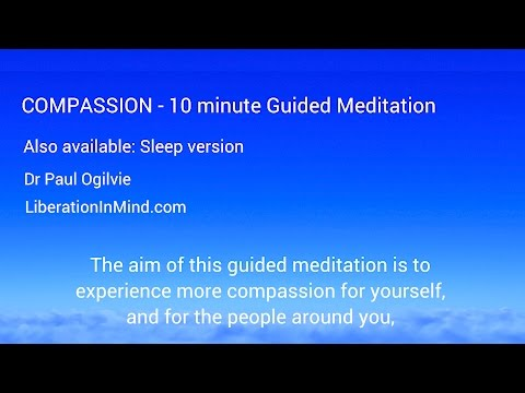 Compassion 10 minute guided meditation