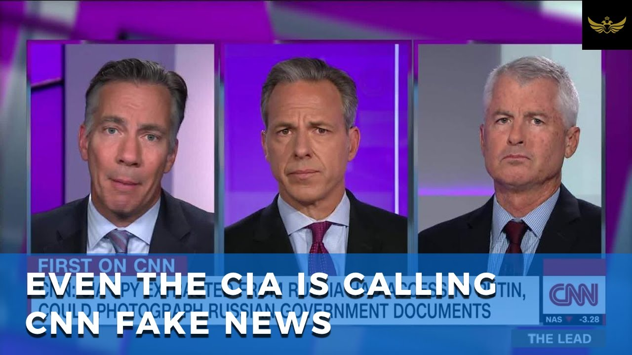 "CNN ""Anonymous Sources"" spread fake news about CIA, Russian Spy & Trump"