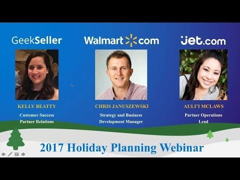 Jet and Walmart Holiday 2017 Preparedness Webinar
