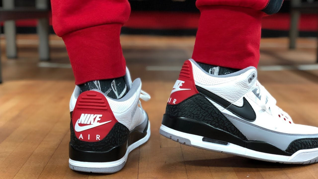 """new product 18e40 08086 JORDAN 3 """"TINKER"""" EARLY LOOK AND ON FEET!"""