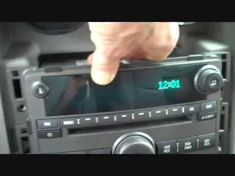 hqdefault how to chevrolet hhr car stereo radio removal 2006 2008 replace 2011 chevy hhr radio wiring diagram at eliteediting.co