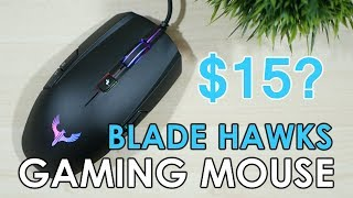 Blade Hawks GM-X5 Gaming Mouse ($15 Budget Gaming Mouse)