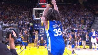 Repeat youtube video Warriors Fan Hits Halfcourt Shot for $5,000   12.20.16