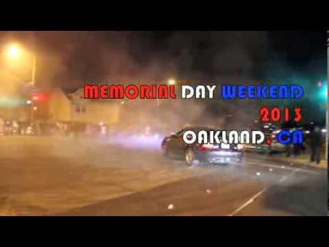 OAKLAND SIDESHOW Memorial Day weekend 2013 187tiremob