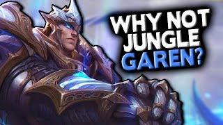 Why Not Garen Jungle? (God King Garen New Skin Spotlight)