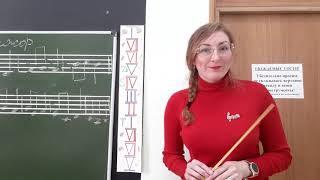 Урок по сольфеджио для 2 класса