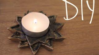 DIY Tealight/Incense Holder