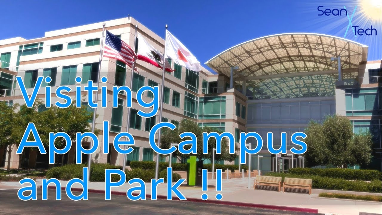 Visiting Apple Campus and Apple Park