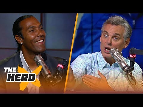 T. J. Houshmandzadeh on Alex Guerrero's methods, T.O.'s choice to skip HOF ceremony | NFL | THE HERD