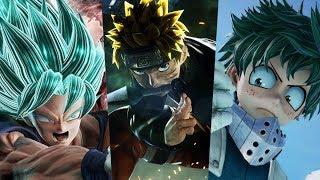 Estreno! Empezamos Jump Force Historia - Todos Los Mejores Animes Juntos ( Gameplay Español Xbox )