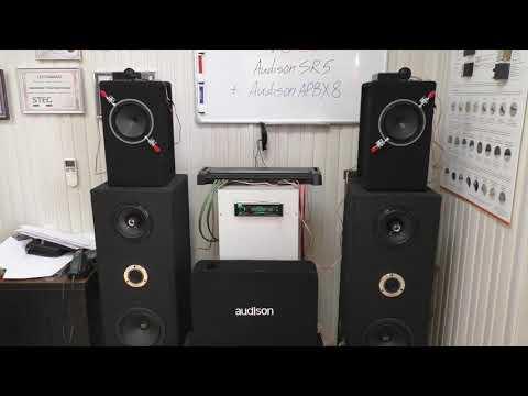 Сабвуфер Audison APBX 8R полный тест+качественный звук 24bit 96kHz