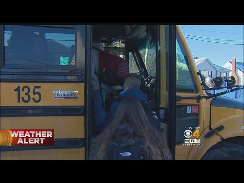 School Buses Stall In Cold, Drivers Use Personal Cars To Warn Kids
