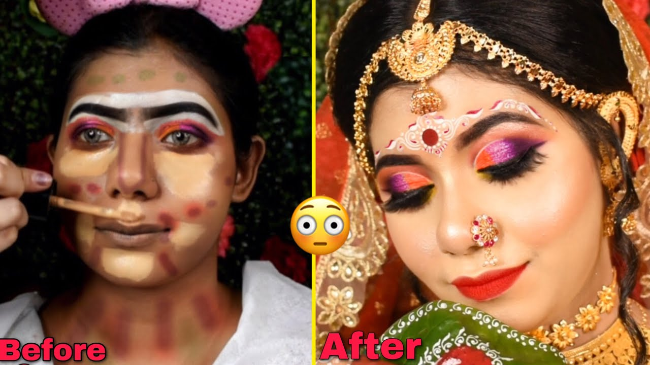 I WENT TO THE BEST REVIEWED MAKEUP ARTIST IN INDIA KOLKATA    BEST REVIEWED BRIDAL MAKEUP ARTIST