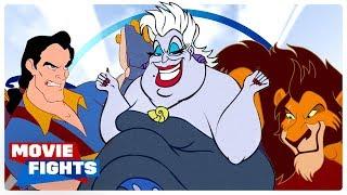 Best Animated Disney Villain? MOVIE FIGHTS