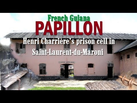 Papillon's prison cell in St.Laurent-du-Maroni. French Guiana