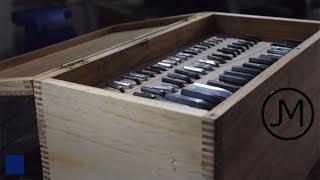 Making A Hex Key Organisation Box w/ Box Joints [34]