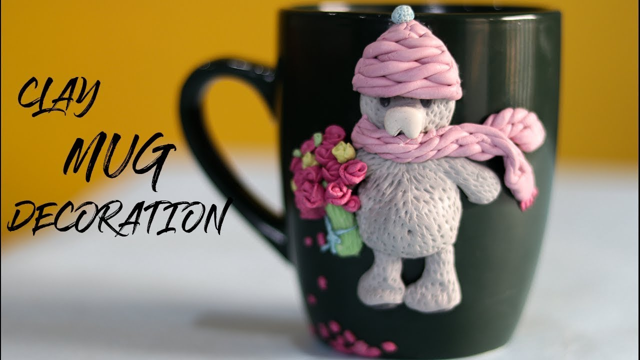 Diy Easy Mug Decoration Clay