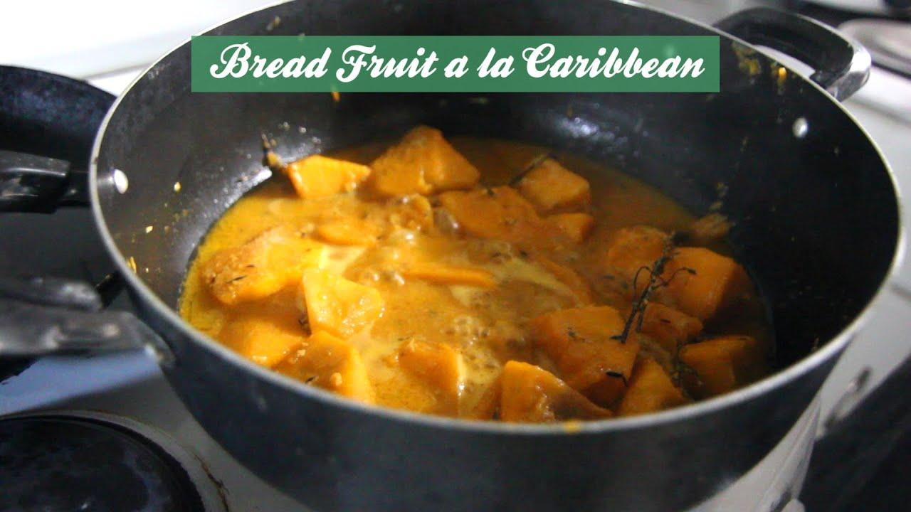 how to prepare breadfruit video