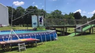 Ushara's second time competing in dock diving with Ultimate Air Dog...