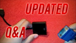 Updated: How To Connect HDMI to VGA Adapter to your Xbox 360 (Q&A)