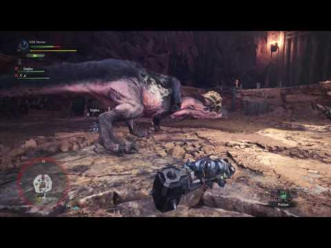 Monster Hunter: World - Special Arena Anjanath Mission: Alloy Armor & Aqua Hammer Coop (2018)