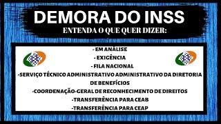 """DEMORA DO INSS: ENTENDA O QUE QUER DIZER """"COORDENAÇÃO GERAL DE RECONHECIMENTO DE DIREITO"""" E MAIS!!!"""