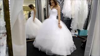 Свадебный салон BELANGE - Свадебное платье Topaz Lady White