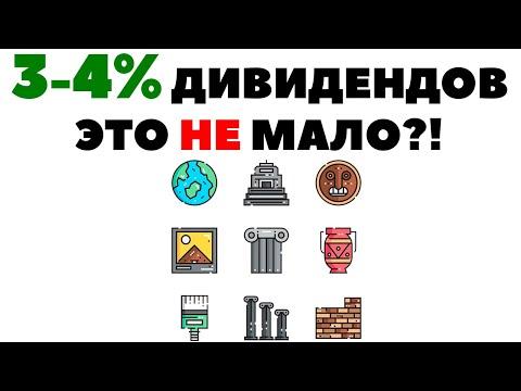 🤔🧻 Дивиденды в 3-4% - это мало? Исторический экскурс в доход с капитала
