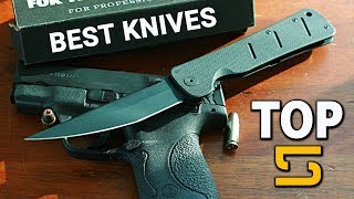 Best Tactical Knives - Top 5 Military Knives For Tactical & Outdoors