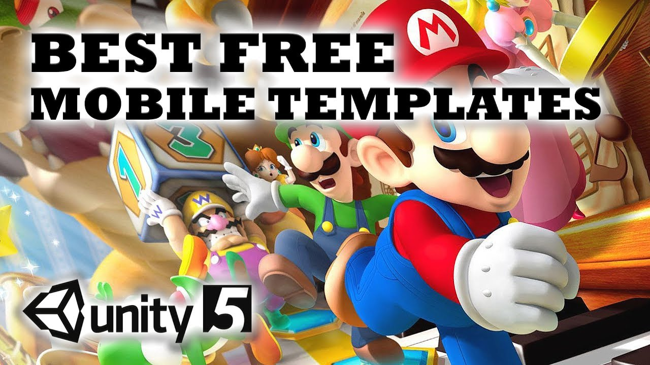 best free mobile games templates for unity 3d youtube