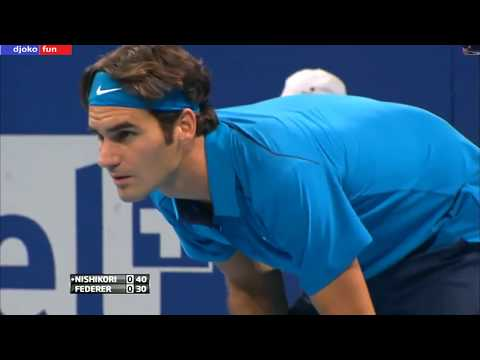 62 - Federer vs Nishikori - Final Basel 2011