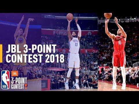 Klay Thompson, Paul George, & Eric Gordon Headline JBL 3-Point Contest
